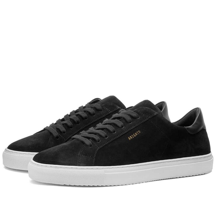 Axel Arigato Clean 90 Suede Sneakers 'Black'