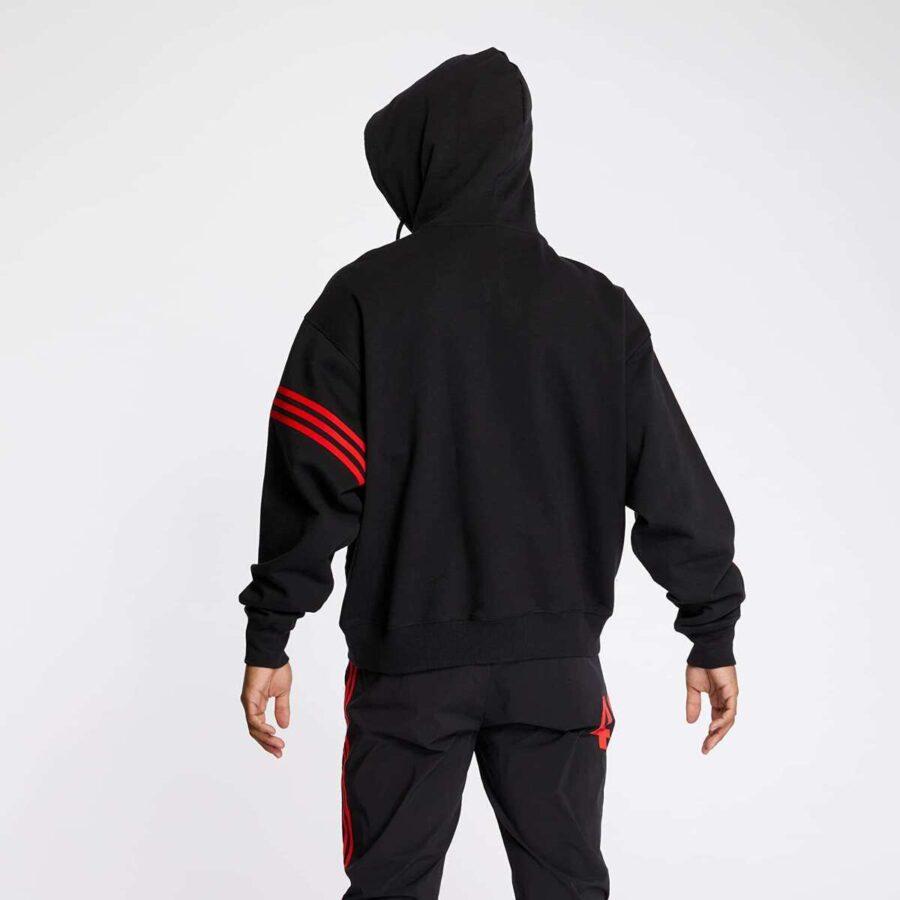 Adidas x 424 Vocal Hoody 'Black & Red'