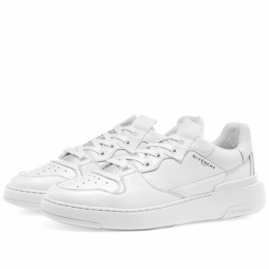 Givenchy Wing Low Leather Sneakers 'White'