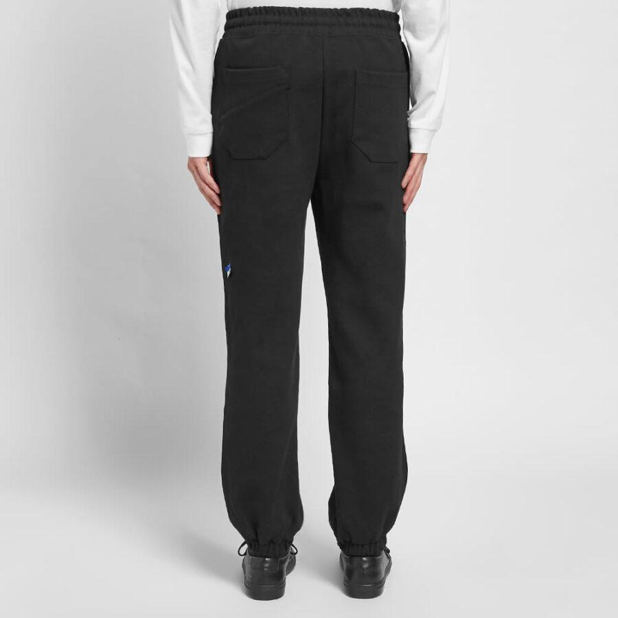 ADER-error AE Patch Logo Sweatpants 'Black'