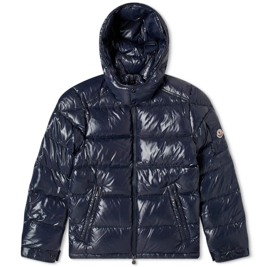 Moncler Maya Down Winter Jacket 'Navy'