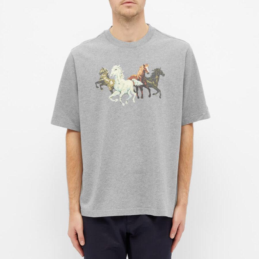 Kenzo Horse T-Shirt 'Grey'