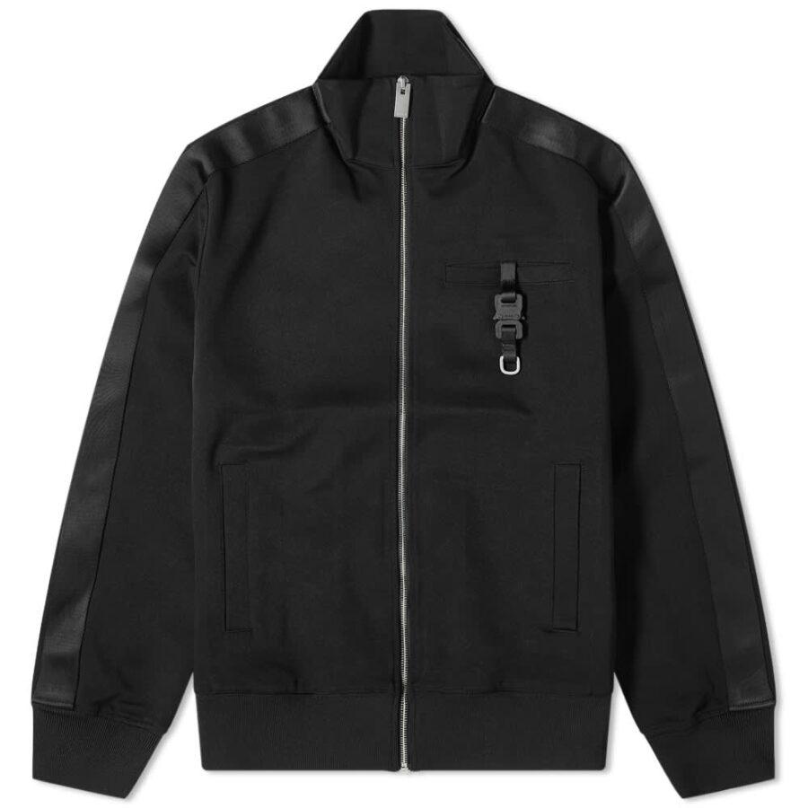 1017 ALYX 9SM Buckle Detail Track Jacket 'Black'