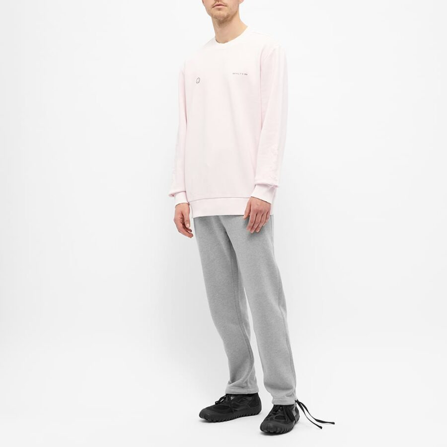 1017 ALYX 9SM Double Logo Sweatshirt 'Pink'