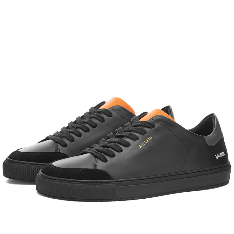Axel Arigato Clean 90 Triple Sneakers 'Black & Orange'