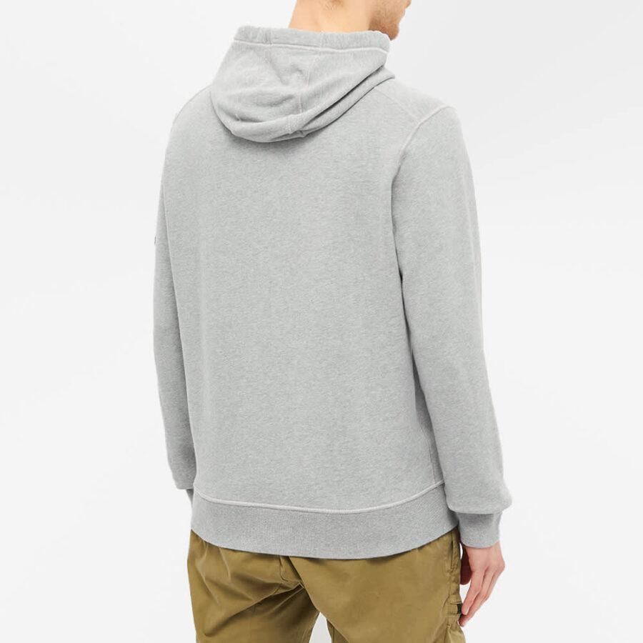 Stone Island Garment Dyed Hoody 'Grey Marl'