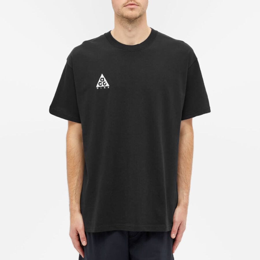 Nike ACG Logo T-Shirt 'Black & White'