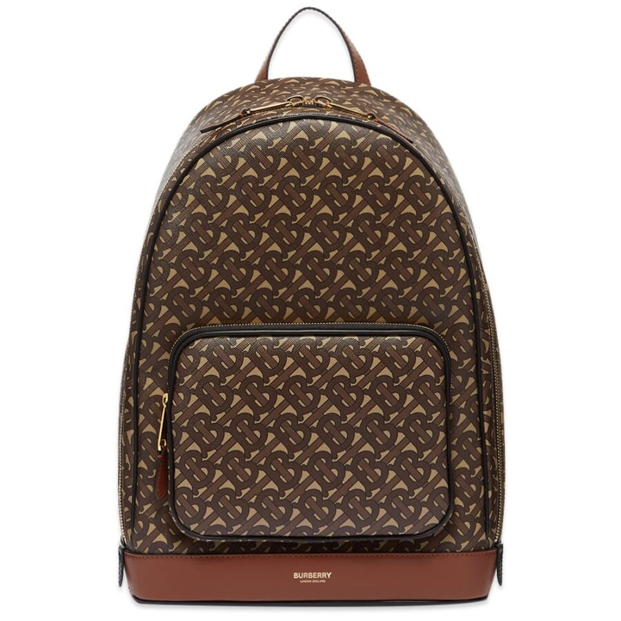 Burberry Rocco Monogram Backpack 'Brown'