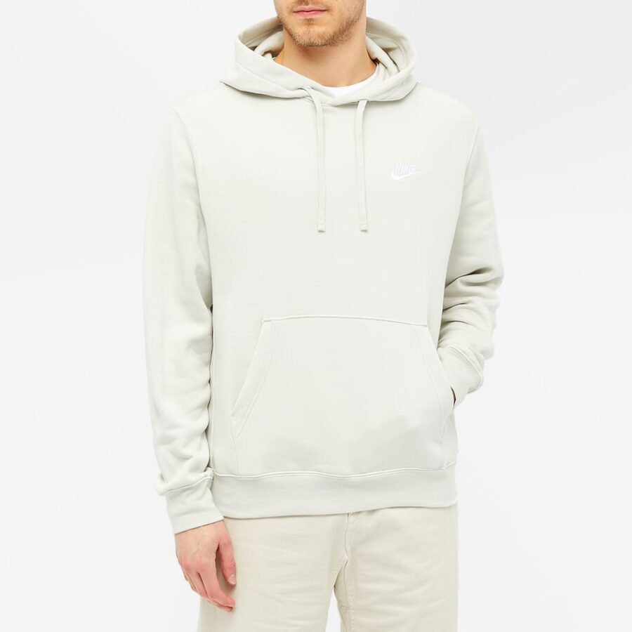 Nike Club Hoody 'Light Bone'