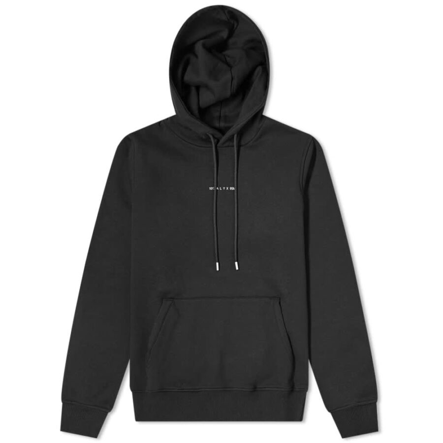 1017 ALYX 9SM Visual Hoody 'Black'