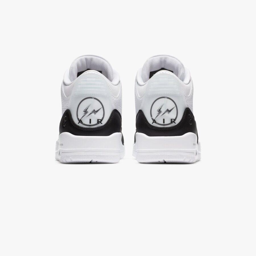 Air Jordan 3 x Fragment 'White'
