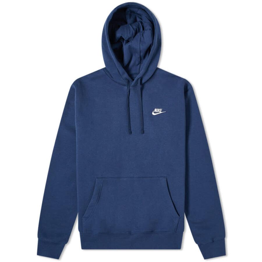 Nike Club Hoody 'Navy'