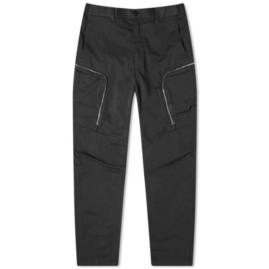 Stone Island Shadow Project Weft Cargo Pants 'Black'