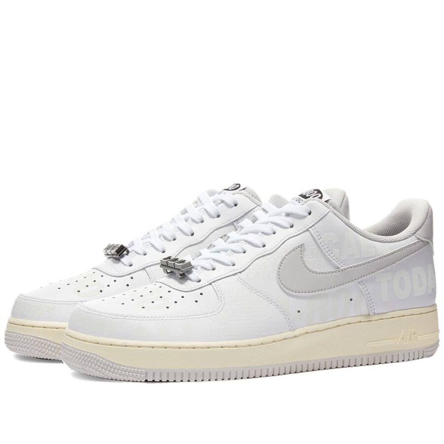 Nike Air Force 1 '07 PRM Toll-Free 'White'