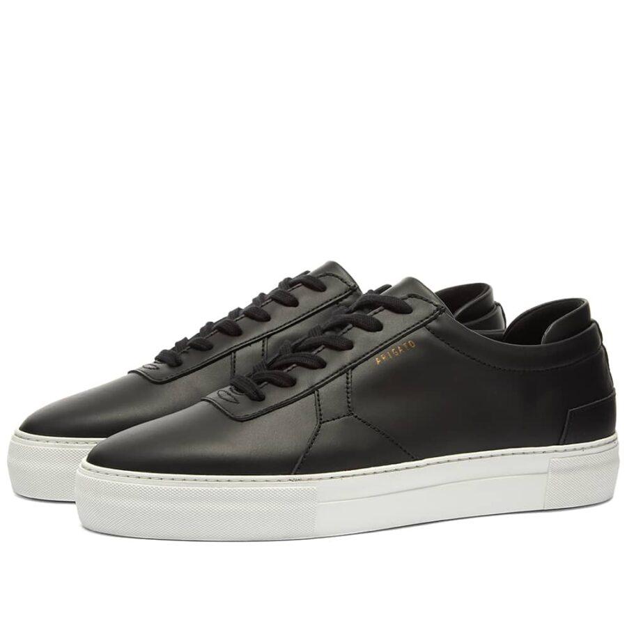 Axel Arigato Platform Leather Sneaker 'Black'