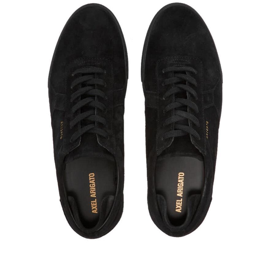 Axel Arigato Platform Suede Sneaker 'Black'