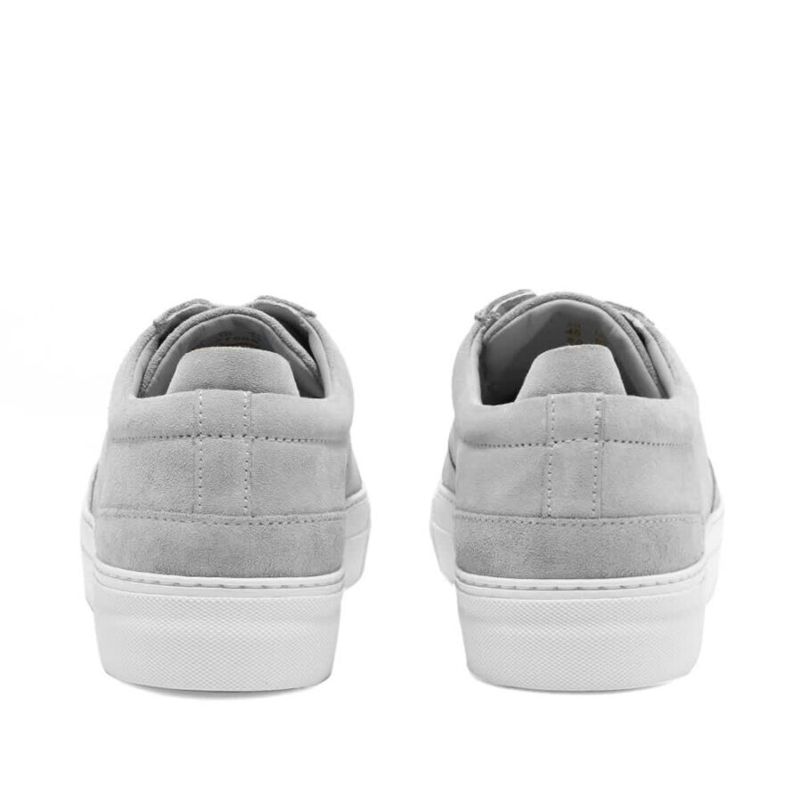 Axel Arigato Platform Suede Sneaker 'Light Grey'