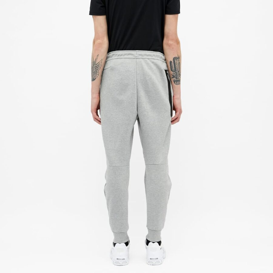 Nike Tech Fleece Joggers 'Dark Grey Heather & Black'