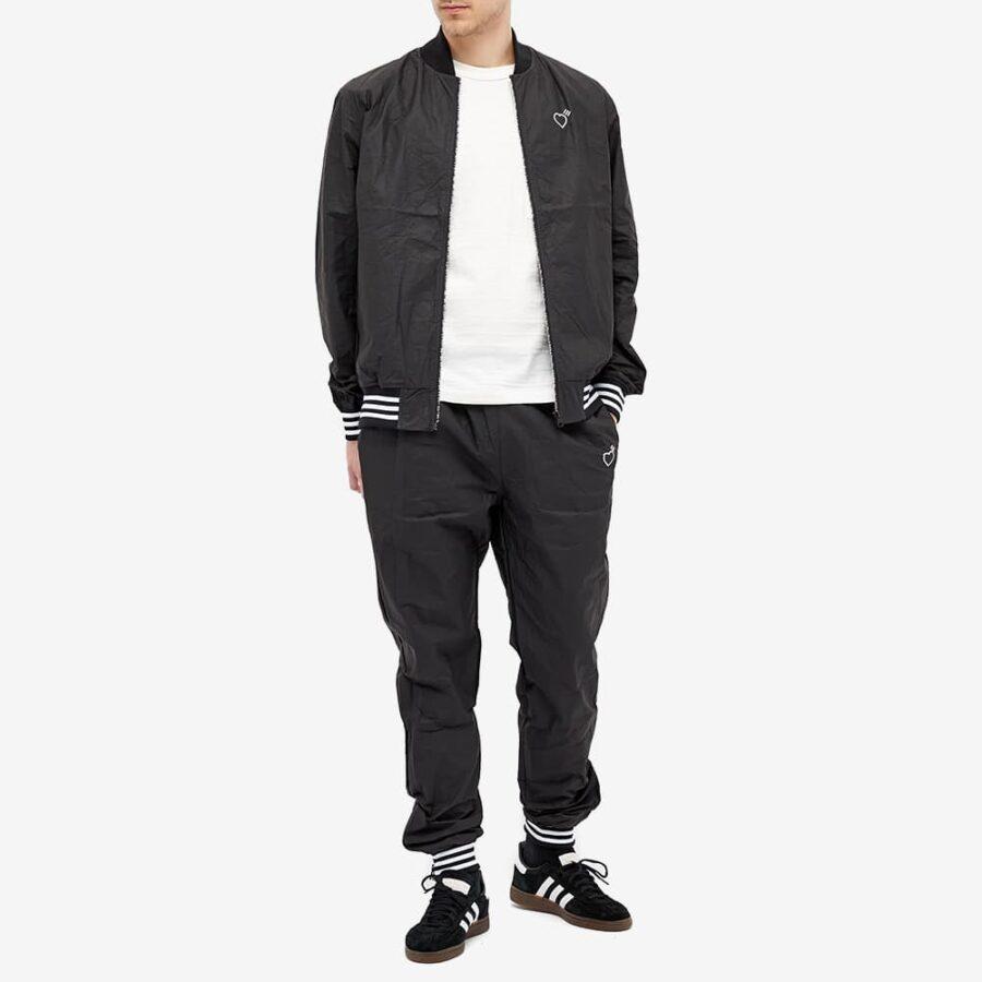 Adidas x Human Made Tyvek Track Top 'Black'