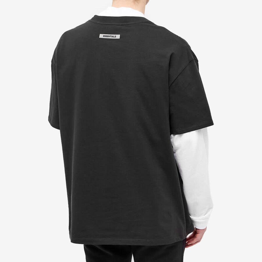 Fear of God ESSENTIALS Front Logo T-Shirt 'Black'