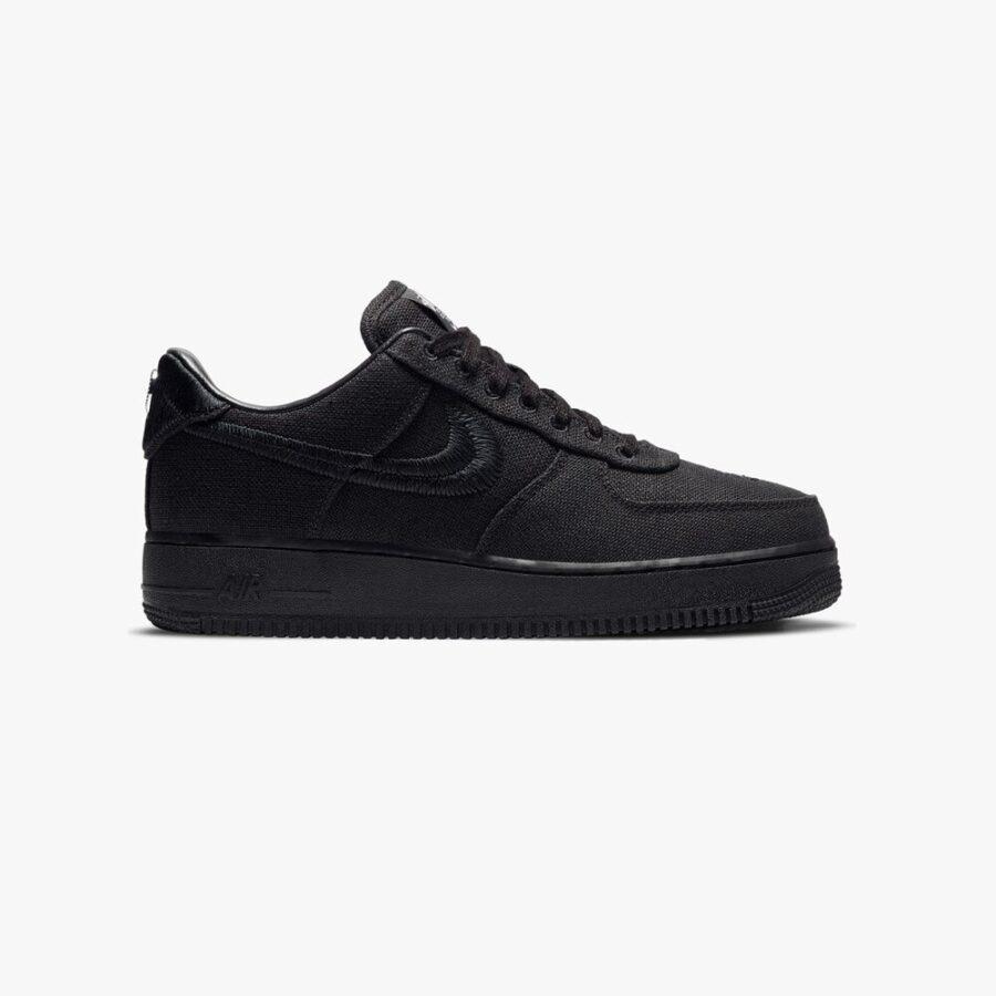 Nike Air Force 1 x Stussy 'Black'