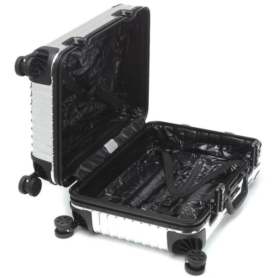 Moncler Genius x RIMOWA Trolley Cabin Suitcase 'Silver'