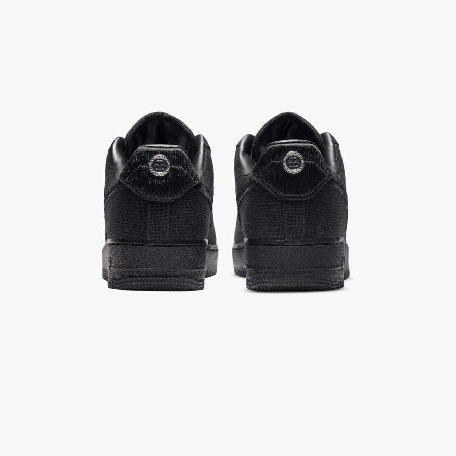 Nike Air Force 1 x Stüssy 'Black'