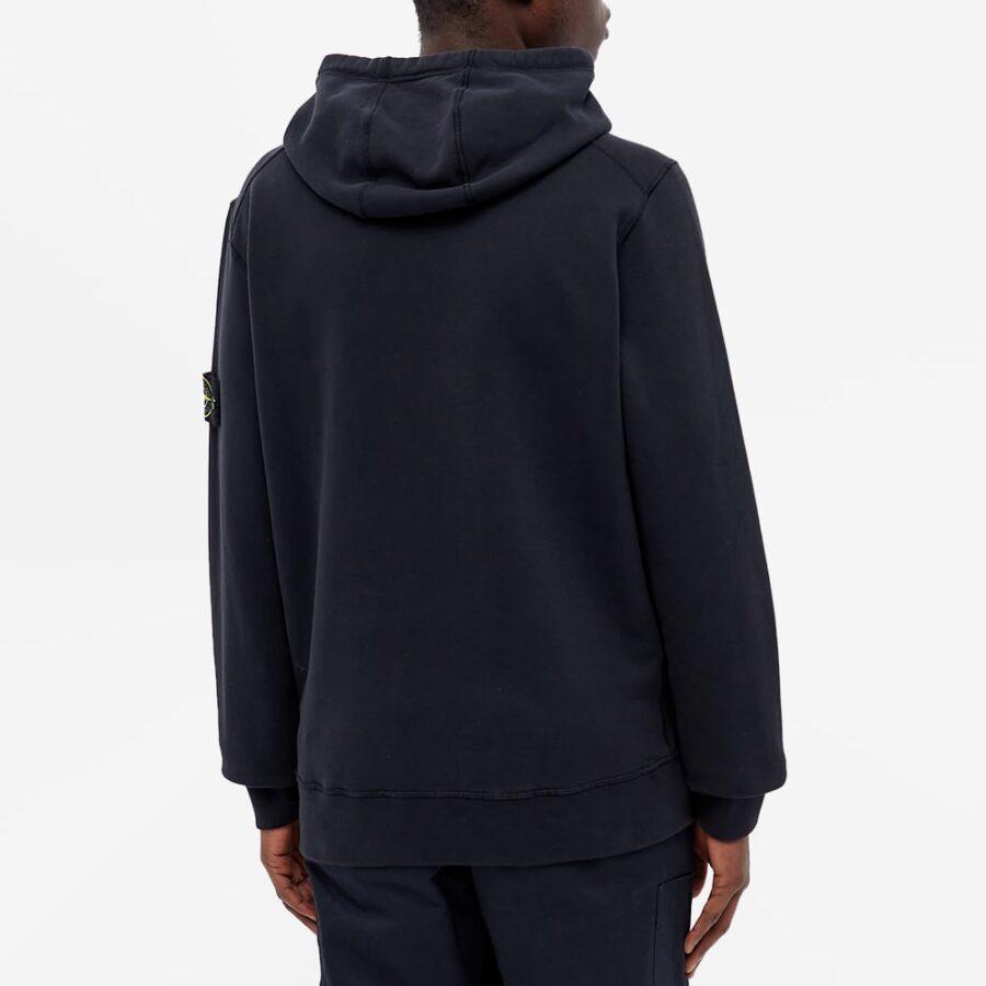 Stone Island Garment Dyed Hoody 'Navy'