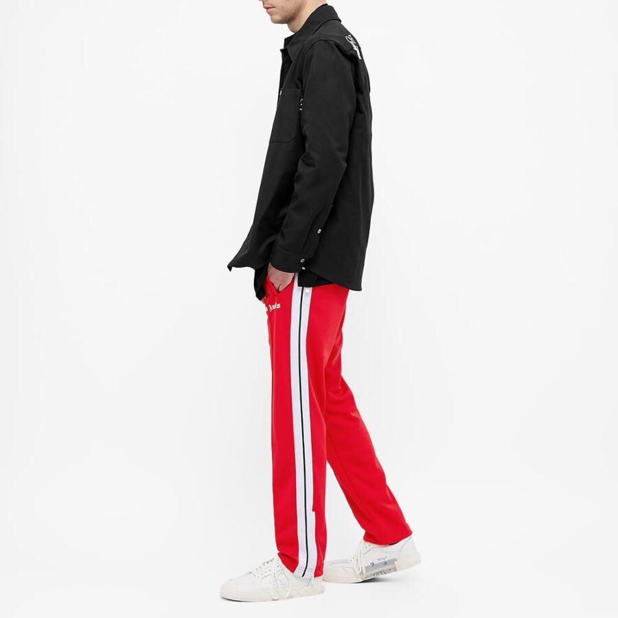 Palm Angels Taped Trackpants 'Red'