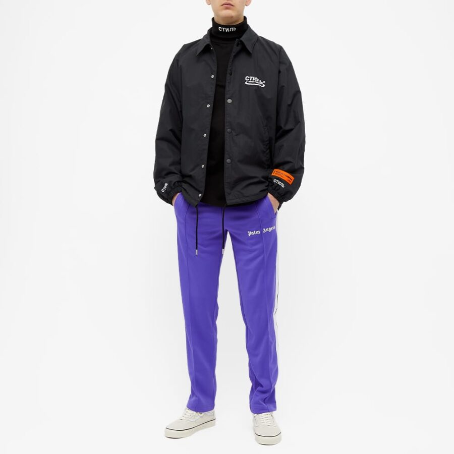 Palm Angels Taped Trackpants 'Purple'