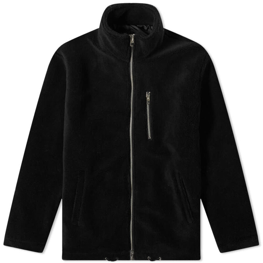 MKI Sherpa Track Jacket 'Black'