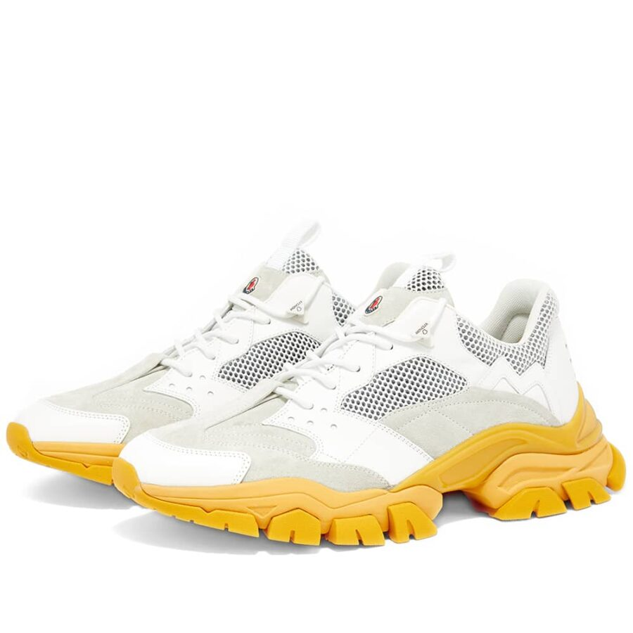 Moncler Genius 1952 Leave No Trace Sneaker 'White & Yellow'