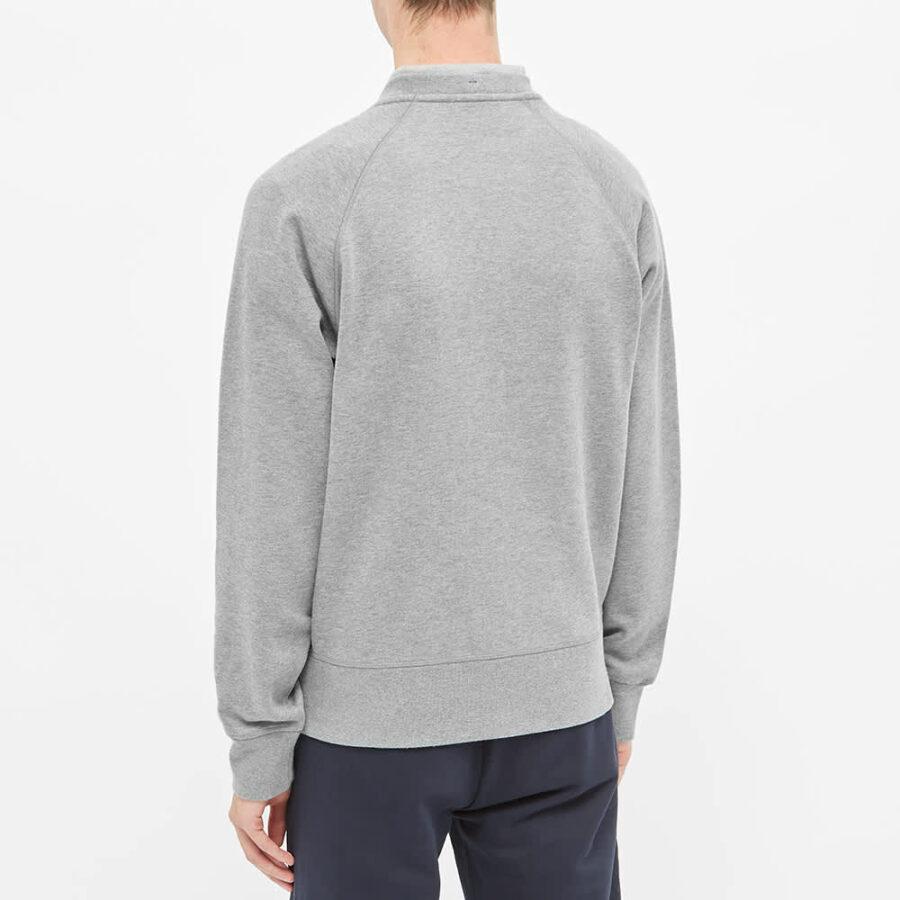 Moncler Grenoble Down Logo Sweatshirt 'Grey'