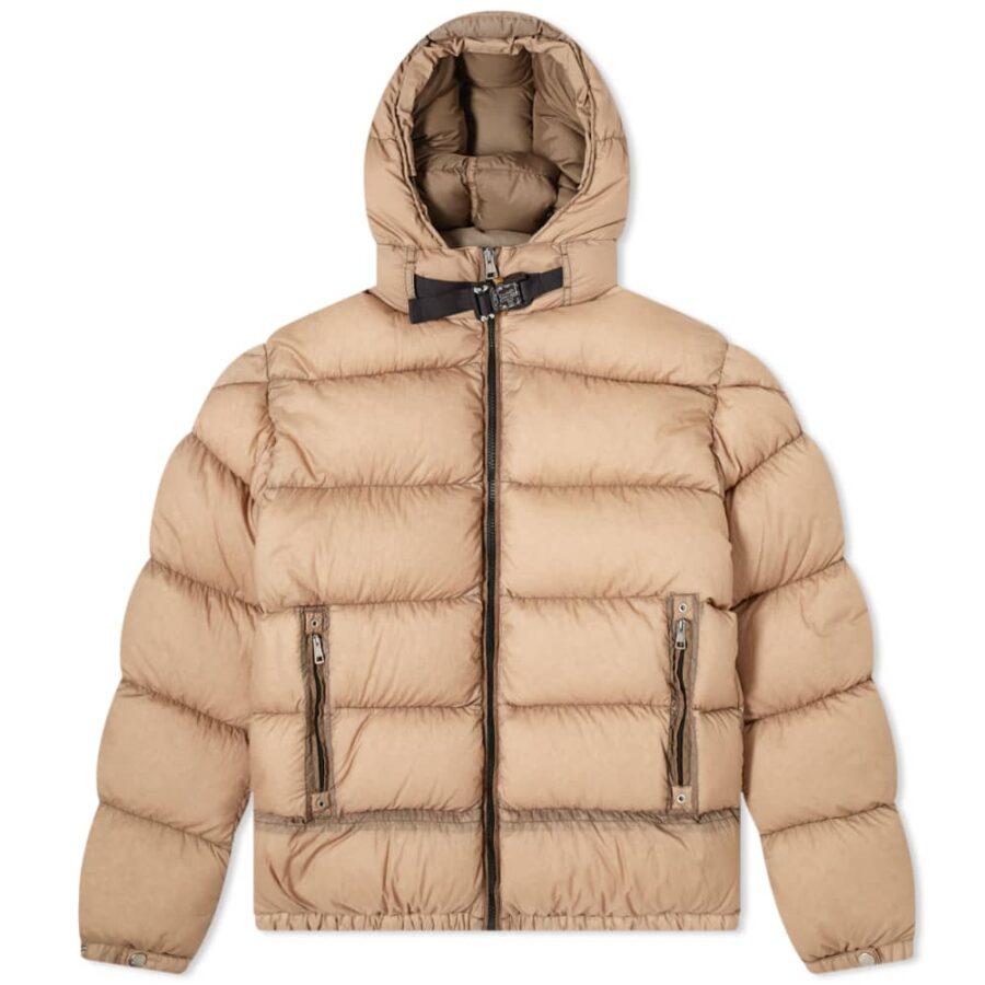 Moncler Genius 6 1017 ALYX 9SM Buckle Down Jacket 'Tan'