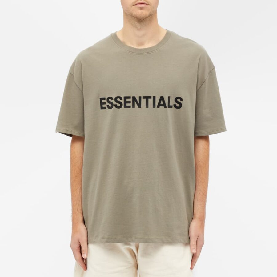 Fear of God ESSENTIALS Front Logo T-Shirt 'Taupe'