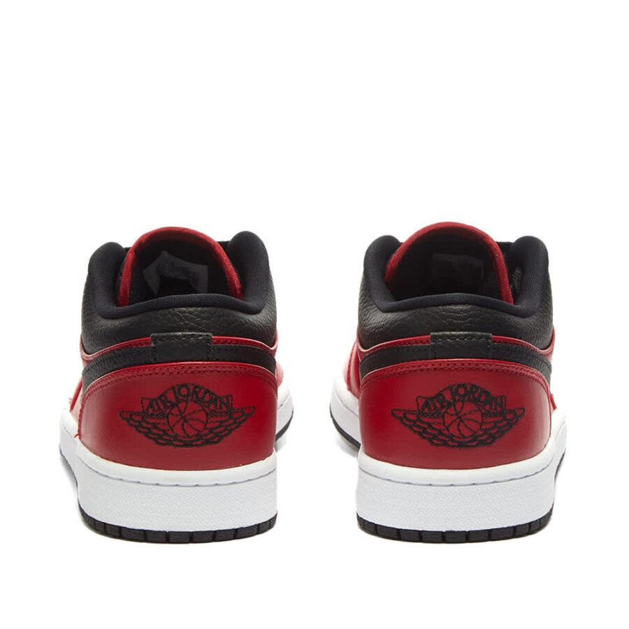 Air Jordan 1 Low 'Red & Black' 553558-605