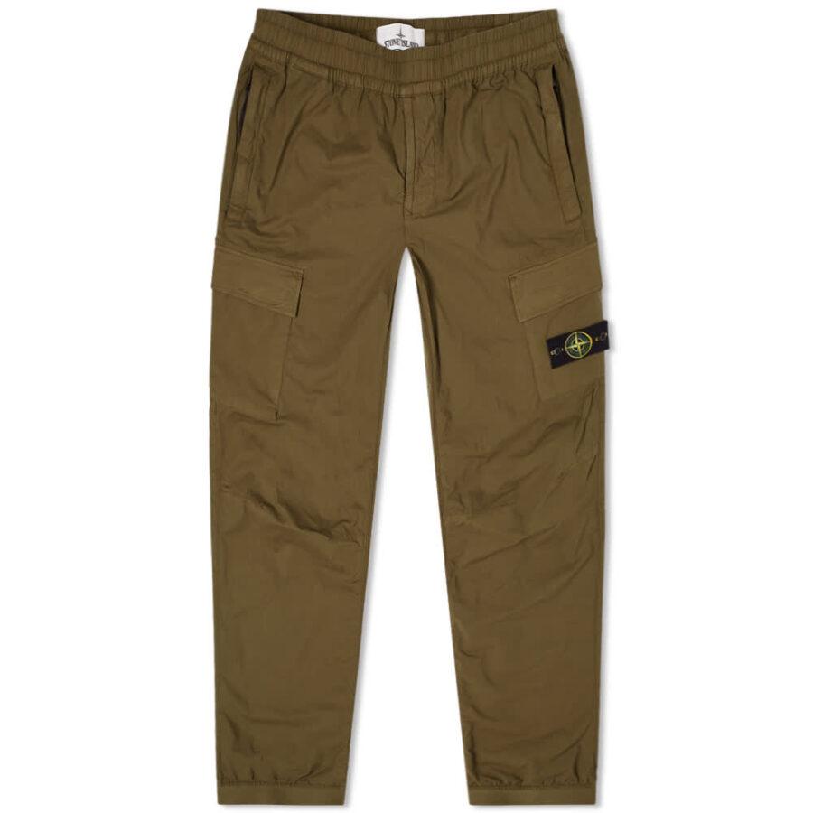 Stone Island Paracute Cargo Pants 'Olive Green'