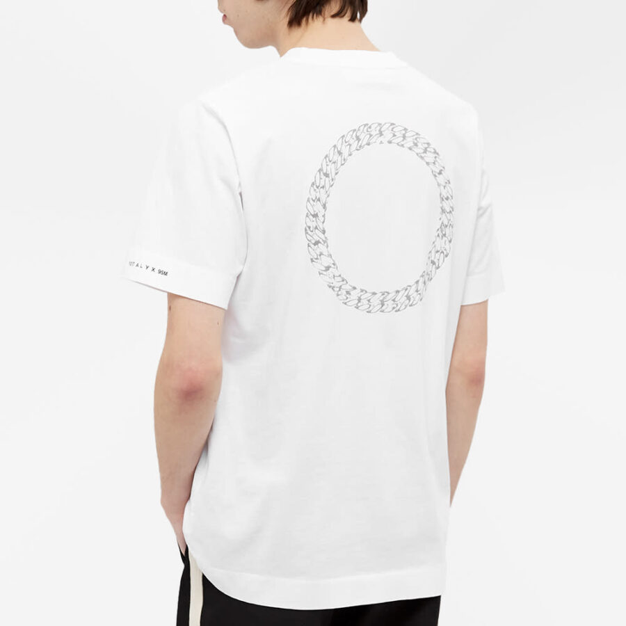 1017 ALYX 9SM Cube Chain T-Shirt 'White'