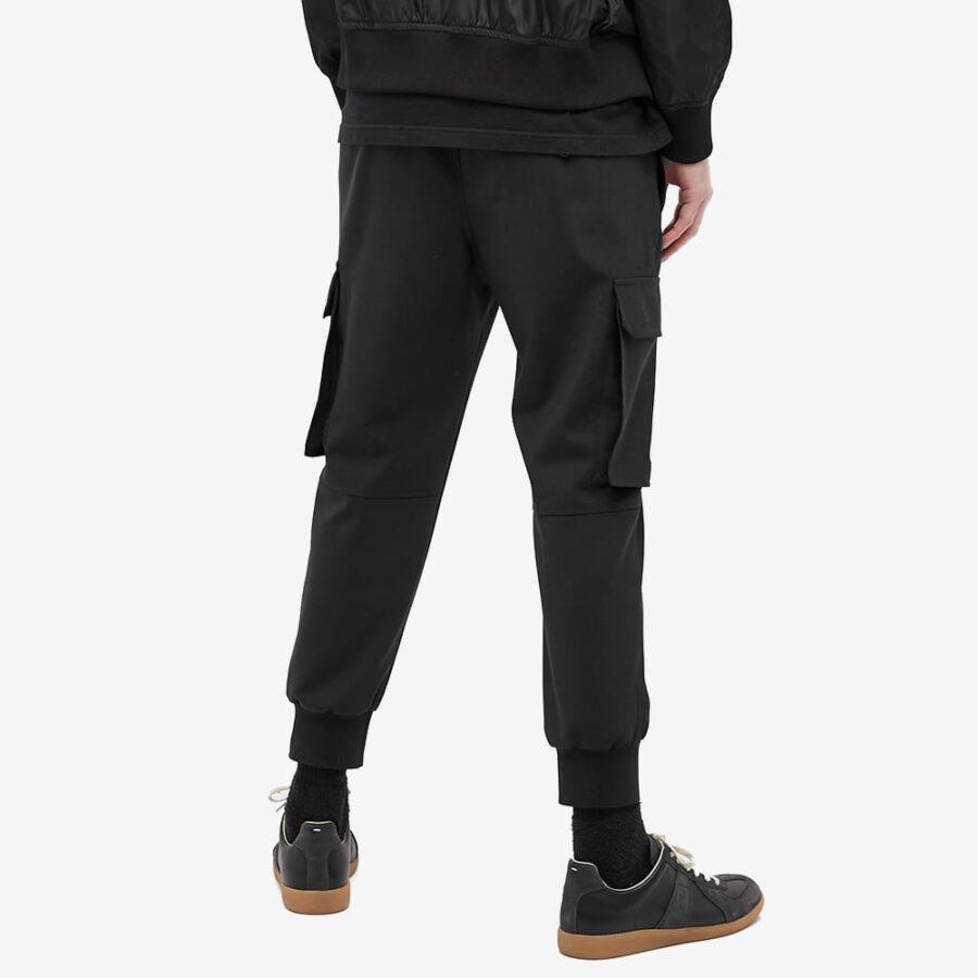 Neil Barrett Minimalist Loose Cargo Pants 'Black'