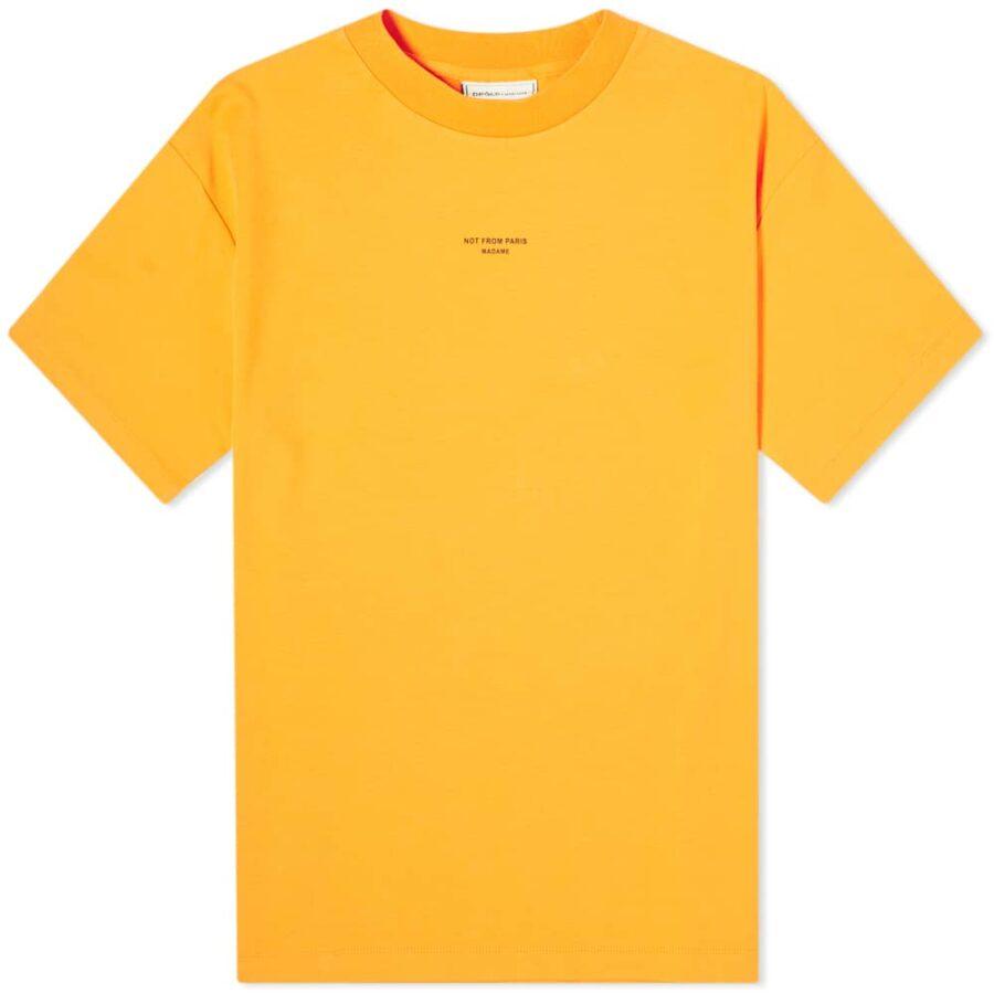 Drôle de Monsieur Classic T-Shirt 'Orange'
