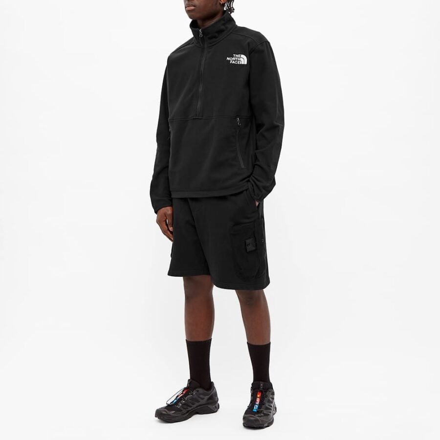 The North Face TKA Kataka Half-Zip Fleece Jacket 'Black'