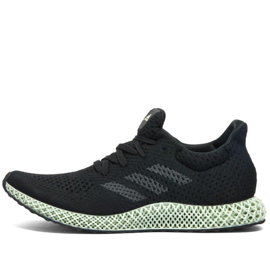 Adidas 4D Futurecraft 'Black & Linen Green'