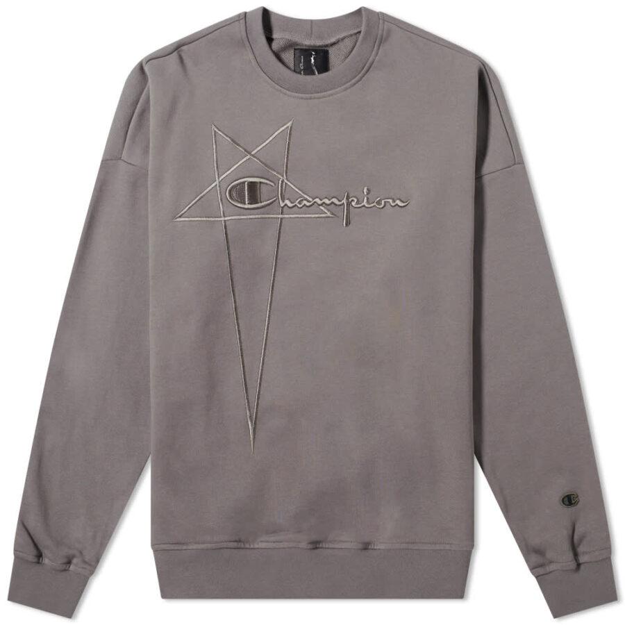 Rick Owens x Champion Pentagram Sweatshirt 'Dust'