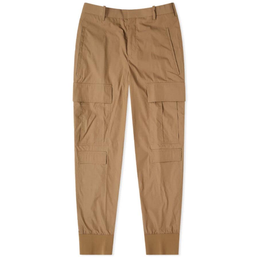 Neil Barrett Minimalist Loose Cargo Pants 'Khaki'