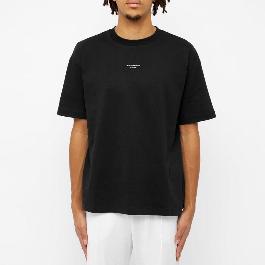 Drôle de Monsieur Classic T-Shirt 'Black'