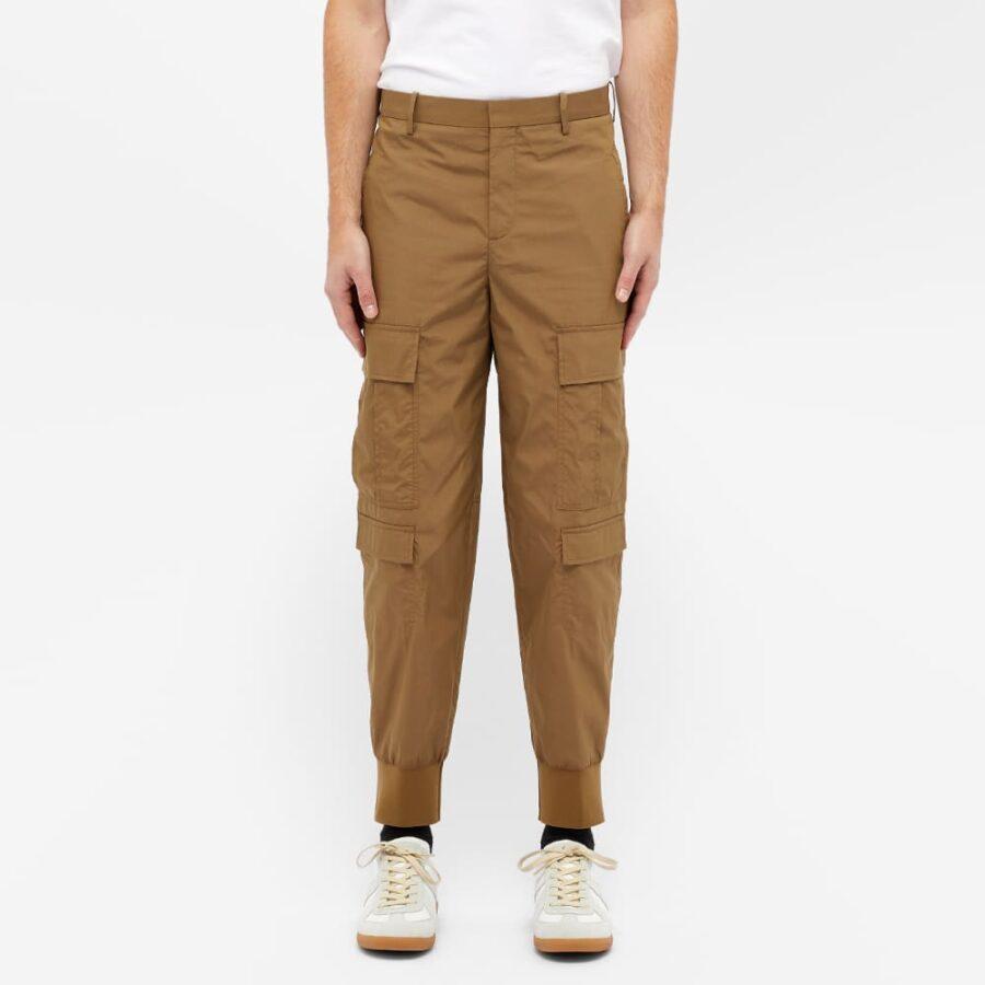 Neil Barrett Cuffed Cargo Pants 'Khaki'