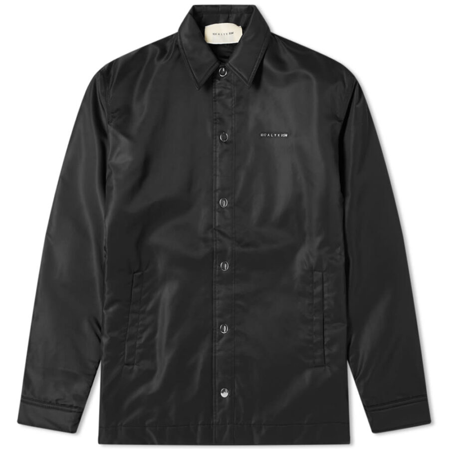 1017 ALYX 9SM Nylon Coach Jacket 'Black'