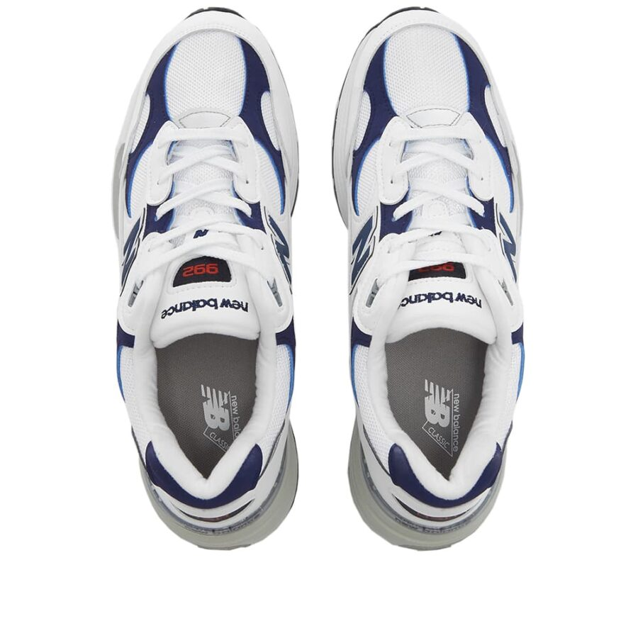 New Balance 992 'White & Blue'